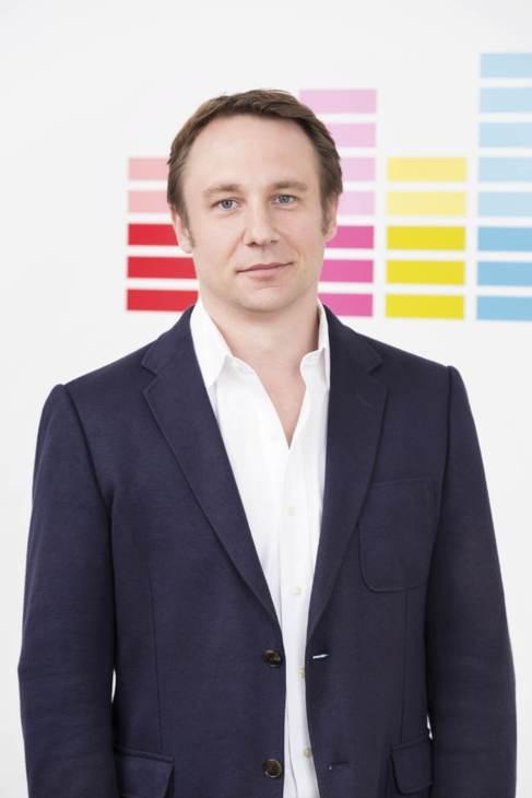 Gerrit Schumann, vicepresidente de Deezer para Europa, en la sede de...