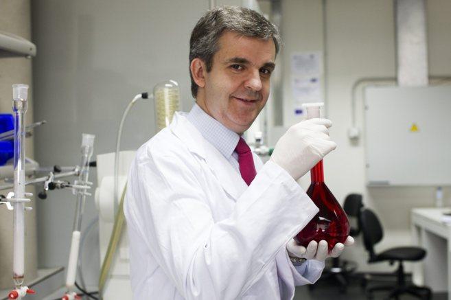 José Carlos Quintela, director general científico de Natac, en los...