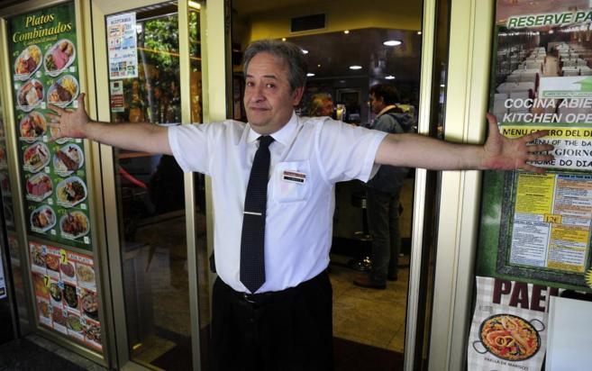 Alberto Casillas emula su acción frente a la Policía del 25 de...