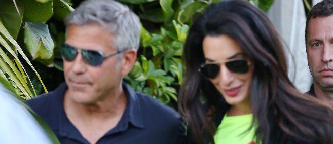 George Clooney y Amal Alamuddin, en una imagen reciente.