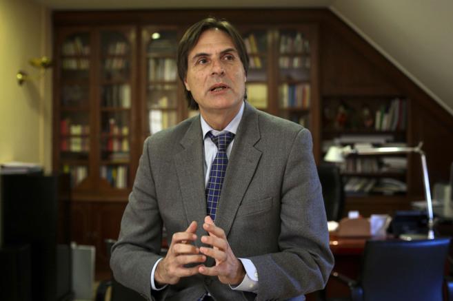 Damián Caneda, durante una entrevista anterior.