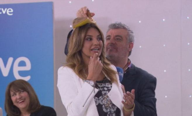 Mariló y Millán Salcedo bromean en la presentación del programa.