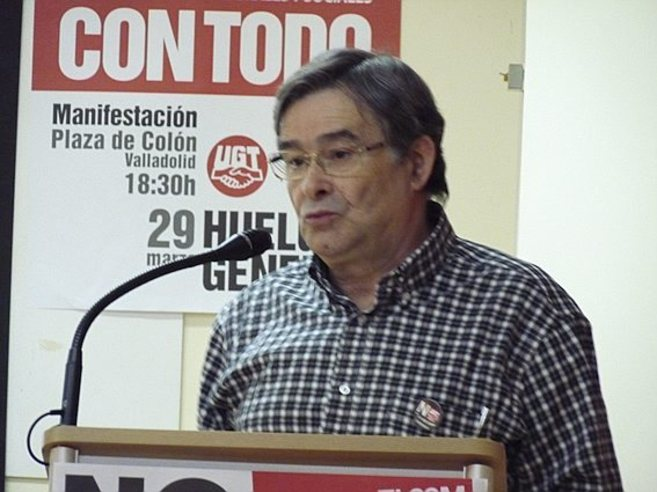 Manuel Fernández López 'Lito', en un discurso.