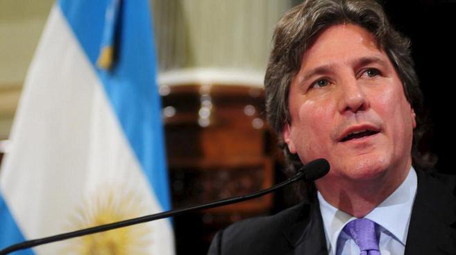 El vicepresidente argentino, Amado Boudou.