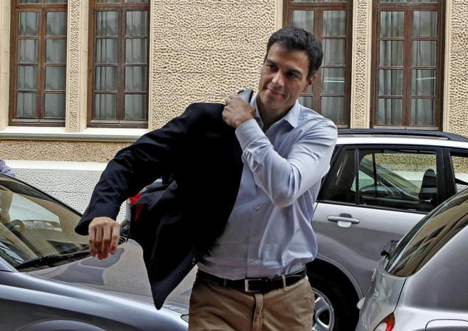 Pedro Sánchez, durante su última visita a Valencia.