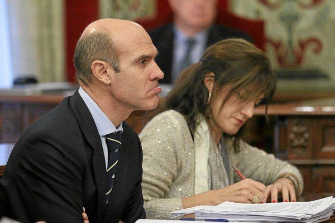 El concejal de Hacienda de Alicante, Juan Seva, durante un pleno...