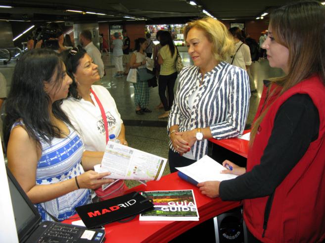 R cord de visitantes en la oficina de turismo de la for Oficina de turismo de la comunidad de madrid