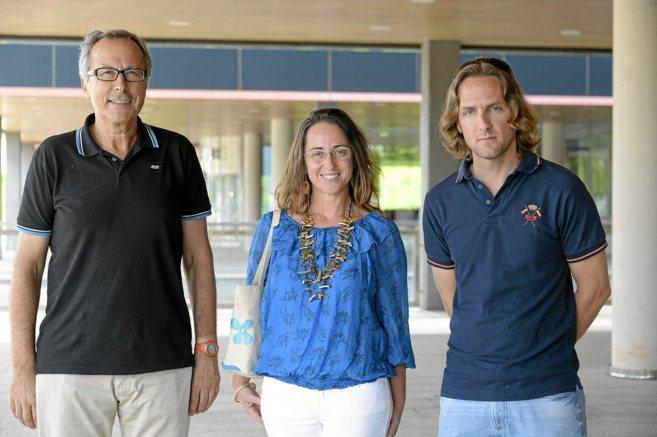 Julián Ruiz-Bravo, Olga Ballester y Carlos Serra, impulsores del...