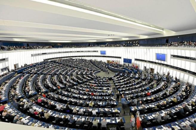 El Pleno del Parlamento Europeo, en Estrasburgo.