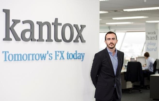 El cofundador de Kantox, Antoni Rami, en la sede de la compañía.
