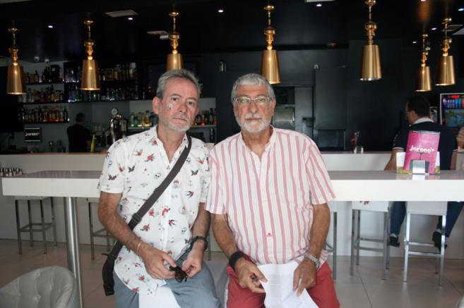 Luis y Ricardo Frutos, víctimas de una agresión en una playa de...