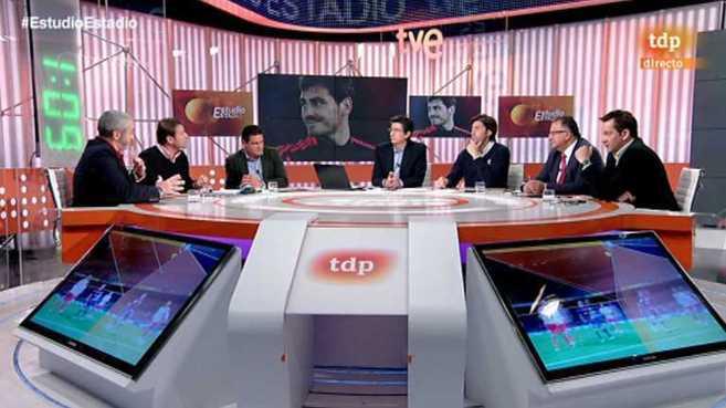 'Estudio Estadio', programa que se emite en Teledeporte.