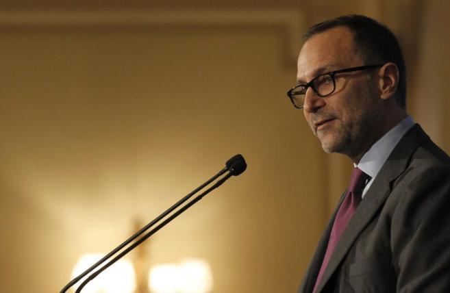 El embajador de Estados Unidos en España, James Costos, durante su...