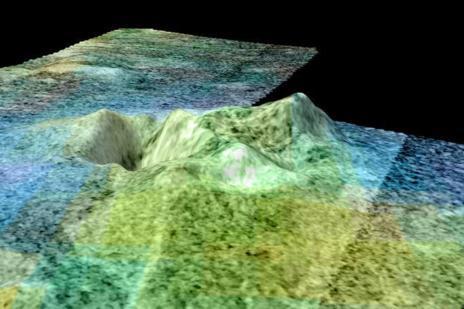 Paso elevado de Sotra Fácula, Titan