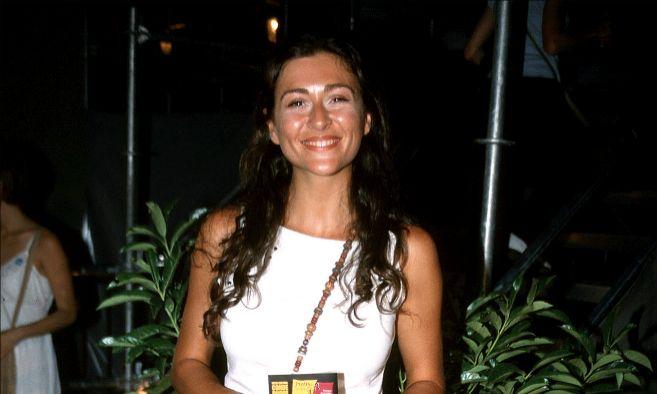 Marilia Casares posando durante un acto público.