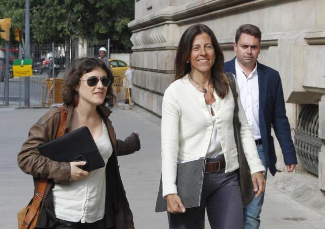 Anna Vidal, en una de sus comparecencias ante el juzgado