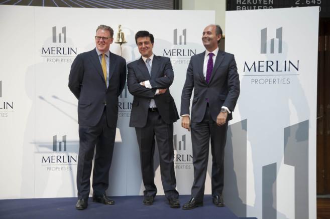 De izda a dcha: David Brush (CIO), Ismael Clemente (presidente y CEO)...