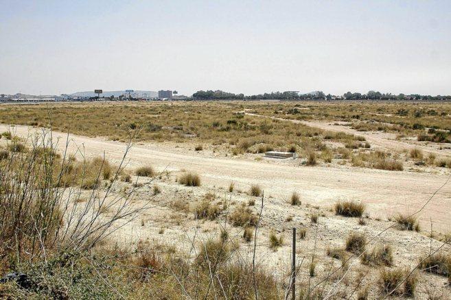 Terrenos de Rabasa en los que está previsto que se ubique la...