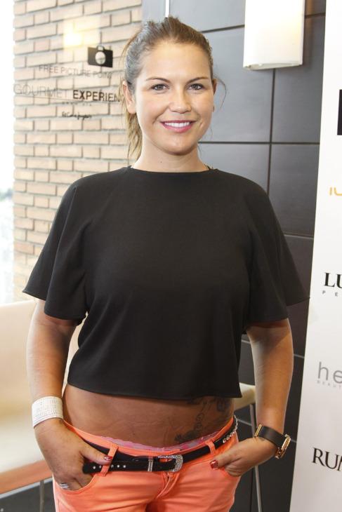 La cantante Katia Aveiro.
