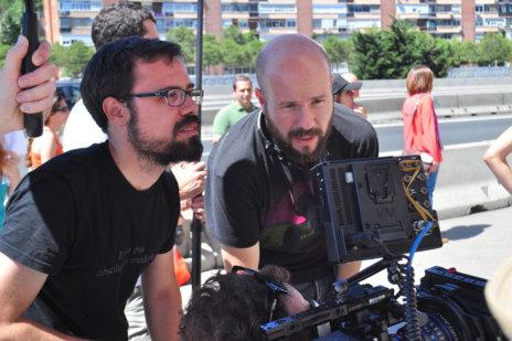 Javier Pulido (i.) y David Ulloa (d.), creadores de 'Nómada'