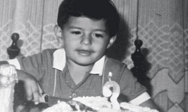 James Rodríguez, celebrando sus tres años, la edad con la que le...