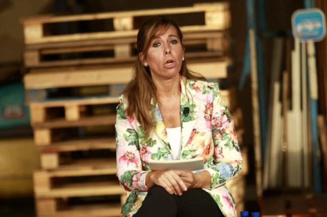 La presidenta del PPC, Alicia Sánchez-Camacho, en un acto con...