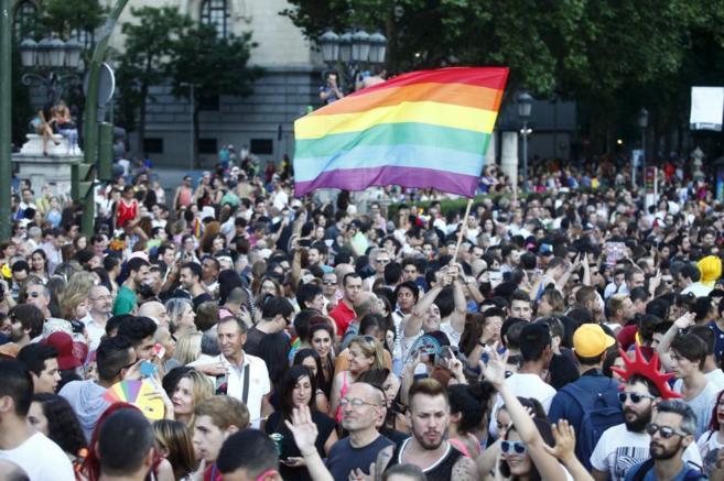 Imagen del Desfile del Orgullo Gay.