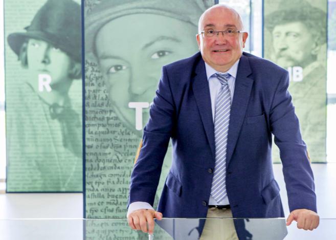 El viceconsejero de Política Lingüística Patxi Baztarrika.