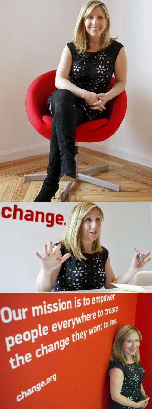 Jennifer Dulski, presidenta y jefa de operaciones de Change, en la...