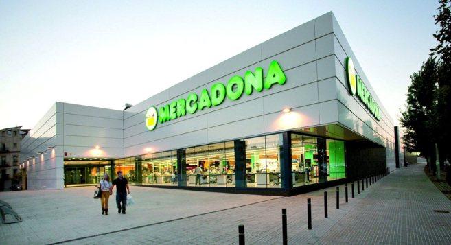 Uno de los supermercados de la empresa Mercadona.