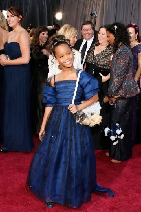 Quvenzhané Wallis, actriz de '12 años de esclavitud', pequeña musa...
