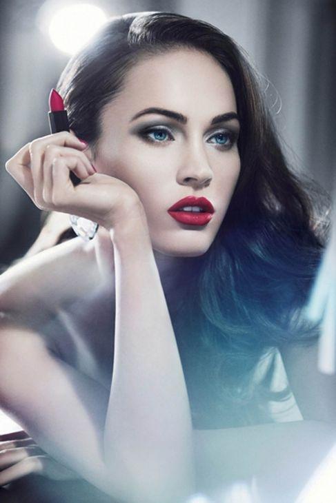 Megan Fox, en otra de las campañas cosméticas de Armani.