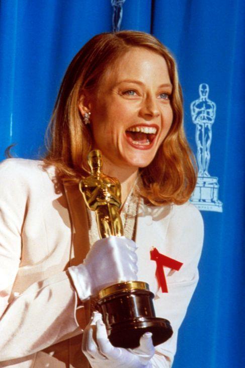 Jodie Foster recogió su Oscar a Mejor Actriz en 1992 por 'El silencio...