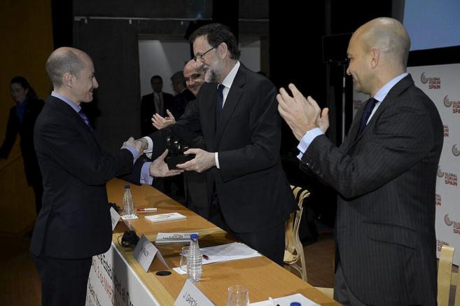 El presidente del Gobierno entrega el galardón a Jenaro García