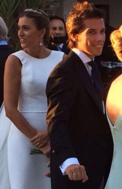 La boda de Nanín R. de Barutell con Patricia.