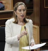 Ana Pastor durante la sesión de control al Gobierno. | EFE