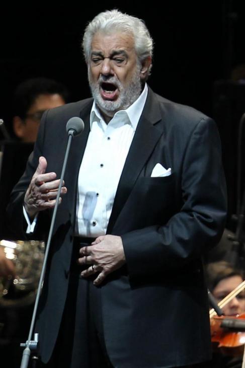 El tenor, en una actuación en Santiago de Chile