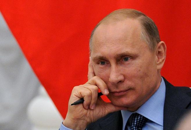 Vladimir Putin durante una reunión en Moscú el pasado 9 de julio