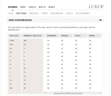 Venta Tabla De Tallas Gap Mujer Pantalon En Stock