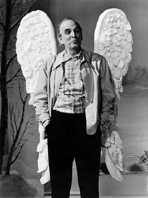 Bergman durante el rodaje de 'Fanny y Alexander' (1982).