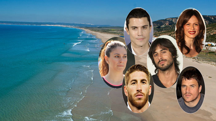 Alguno de los famosos que veranean en Zahara de los Atunes.