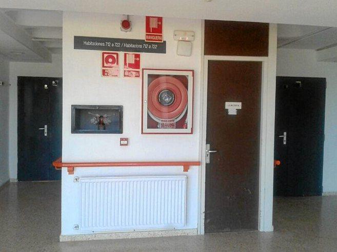 Imágenes recientes del interior de la residencia pública de Carlet,...