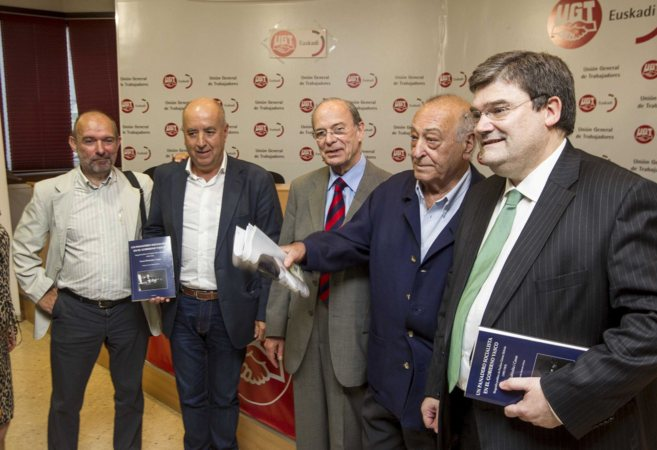 Fermí Rubiralta, Raúl Arza, Ibon Areso, Nicolás Redondo y Aburto,...
