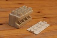 Un prototipo de cómo será un Smart Brick.