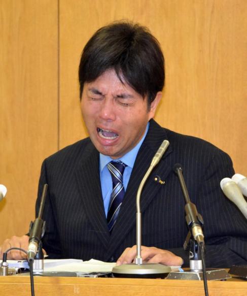 Ryutaro Nonomura, defendiéndose entre lloros de las acusaciones de...