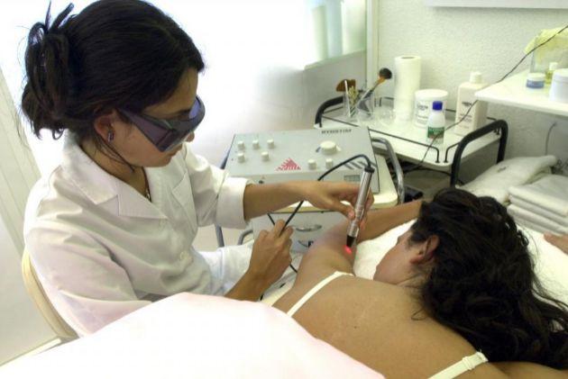 Centro de depilación láser en Vitoria (País Vasco).