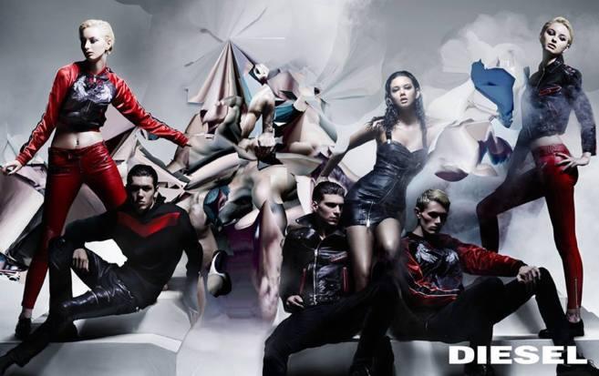 Campaña pre-fall 2014 de Nicola Formichetti para Diesel.