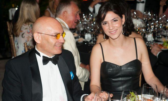 El juez Javier Gómez Bermúdez, junto a su nueva pareja, Carolina...