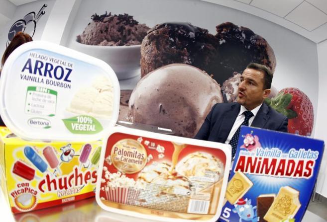 Juan Carlos Quilis, coordinador del centro de postres lácteos y...