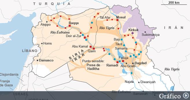 Estado Islamico Mapa Actual.Al Califato De Isis Cronica El Mundo